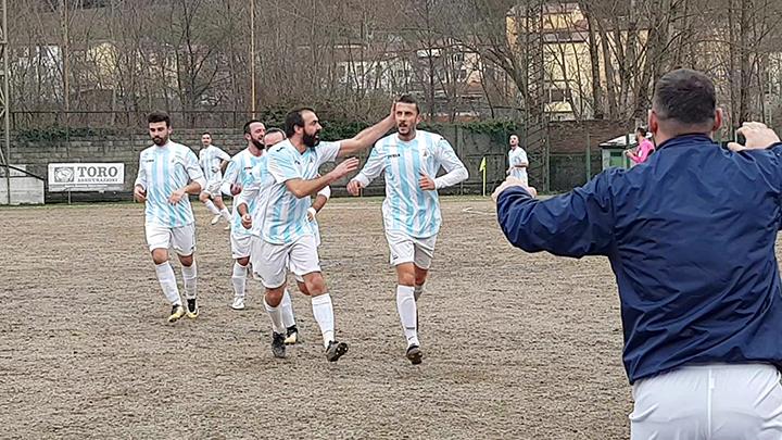 Serra dopo il goal